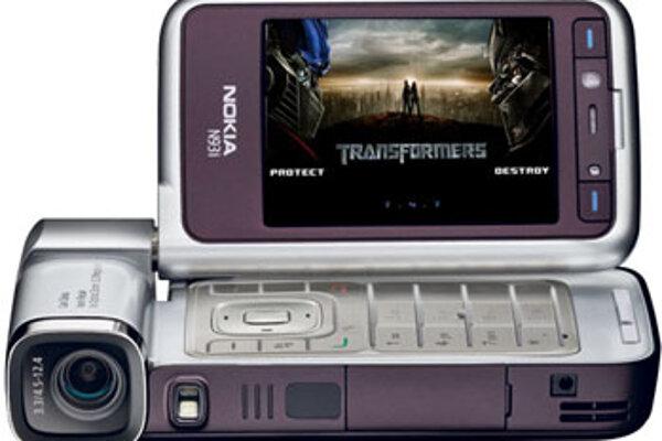Nokia N93i Transformers Edition.