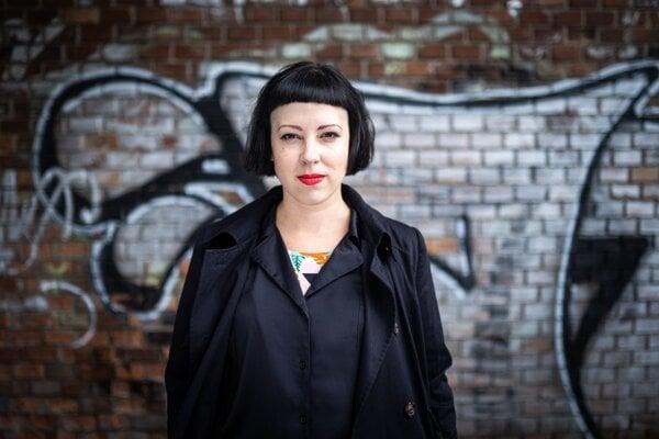 Dizajnérka a vizuálna kritička Lenka Hámošová