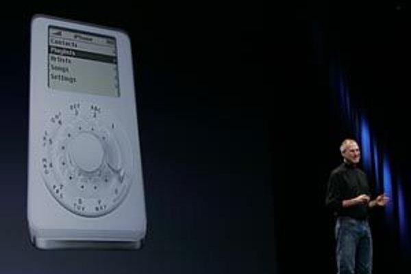 O telefóne od Apple sa už dlho špekulovalo, ako však bude vyzerať? Steve Jobs si najskôr s publikom zažartoval s takýmto modelom.