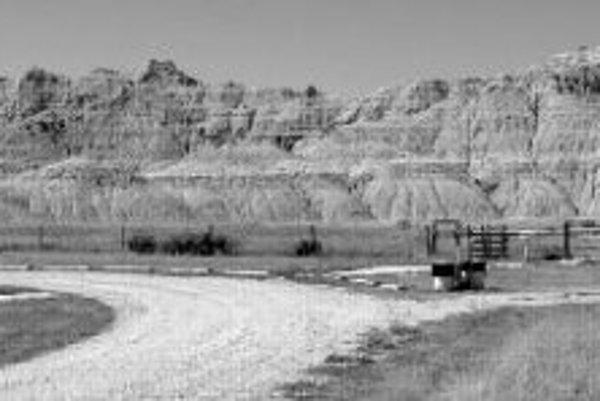 Geologický park Toadstool v Nebraske, domov väčšiny fosílií, ktoré skúmal Zanazzi s kolegami. Kredity foto - Dennis O. Terry; Matt Kohn.