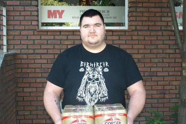 Kartón piva od spoločnosti Heineken v4. kole vyhral Andrej Repta zBranču.