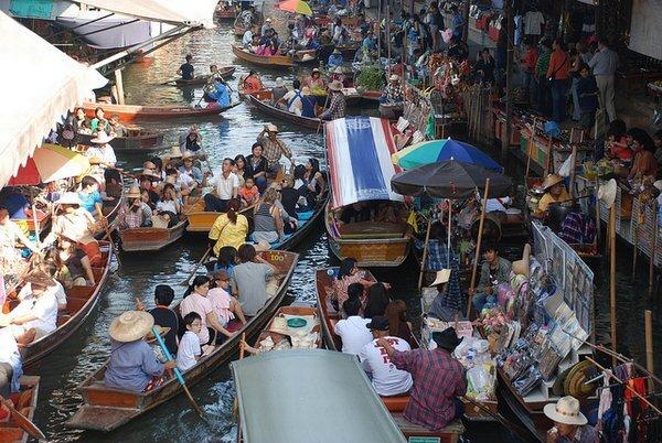 Thajsko - trh