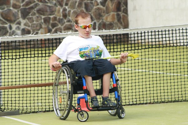 Na Remate si Patrik vyskúšal viaceré športy.