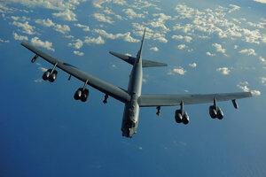 Strategický bombardér Boeing B-52 Stratofortress.