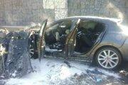 Auto po tragickej nehode.