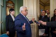 palestínsky prezident Mahmúd Abbás (uprostred).