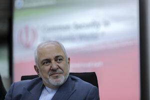 Iránsky minister zahraničných vecí Mohammad Džavád Zaríf.