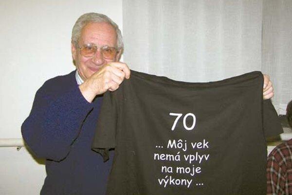 """Vojtech """"Béla"""" Mozoláni počas oslvá 70 rokov"""