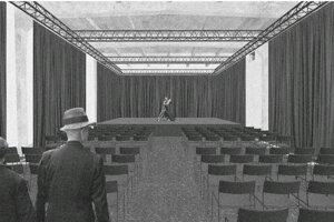 Víťazný návrh - multifunkčná sála.