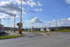 Križovatka ulíc Arm. gen. Svobodu a Sibírska.