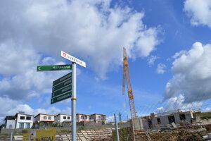 V katastrálnej časti Ľubotice začal stavebný boom.