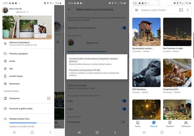 Ako nastaviť neobmedzené úložisko vo Fotky Google.