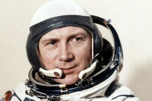Prvý nemecký kozmonaut Sigmund Jähn.