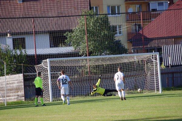 Jeden zo šiestich gólov v drese Hriňovej.