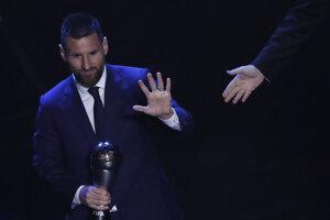 Messi vyhral anketu FIFA pre najlepšieho futbalistu roka 2019.