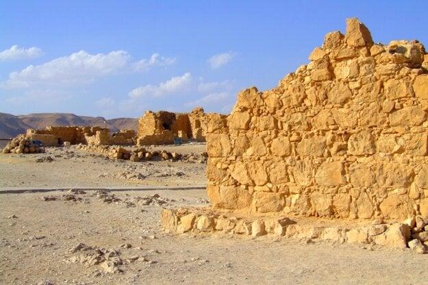 Ruiny starobylej Masady