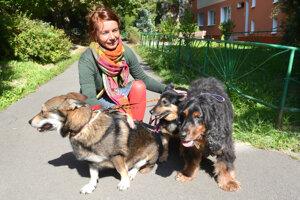 Alena Škodyová sa dočaskovaniu útulkáčov venuje šesť rokov.