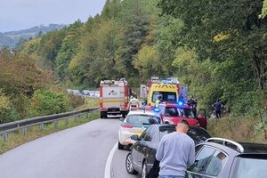 Nehoda pri Humennom.