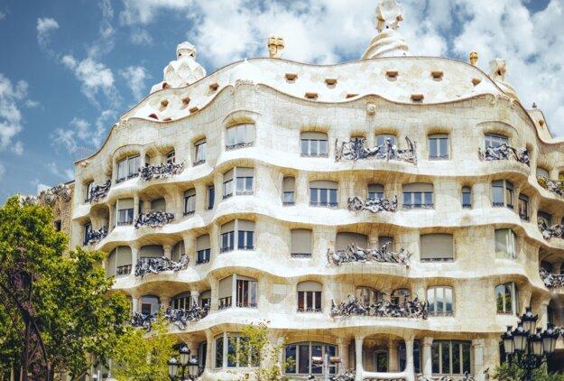 Gaudího Casa Milá