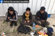 Traja cudzinci sa dostali na Slovensko nelegálne.