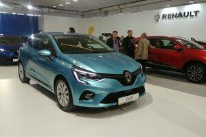 Renault Clio v modrej Céladon