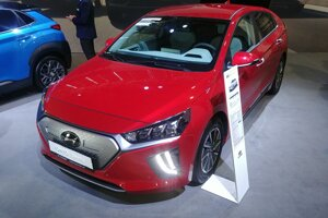 Modernizovaný elektromobil Hyundai Ioniq.
