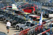 Predaj áut v autobazári