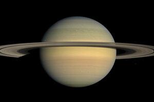 Planéta Saturn.