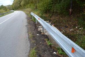 Na tomto úseku sa stala smrteľná dopravná nehoda.