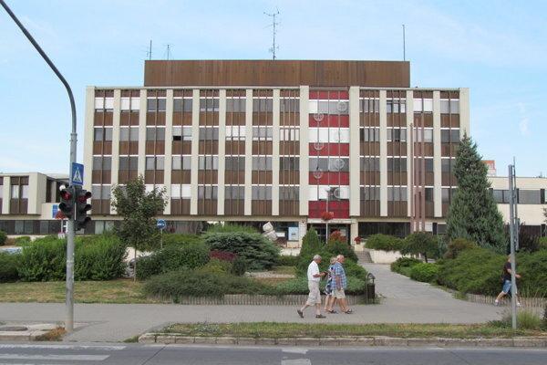 Mestský úrad Nitra.