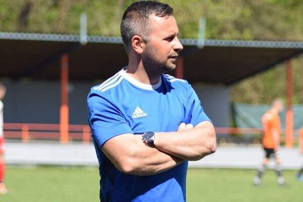 Tréner Michal Karásek.