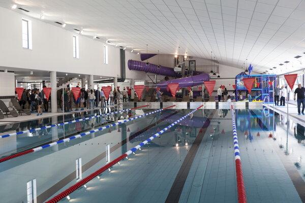 Takto vyzerá plaváreň v Petržalke.