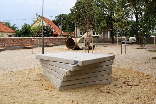 Nový park v Leopoldove