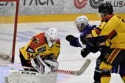Topoľčany postupne na domácom ľade zdolali Žilinu, Dubnicu i Martin. Oporou v každom jednom zápase bol brankár Erik Kompas.