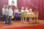 Kultúrny program pripravili deti z materskej a základnej školy.