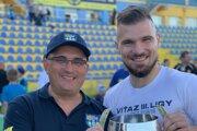 Dušan Trnka (vľavo) vraví, že klub je v rozvojovej fáze.