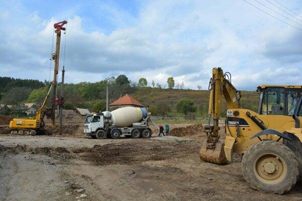 V Detve už začali so stavebnými prácami.