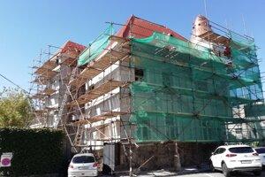 Obnova domu na Námestí SNP v Trnave.