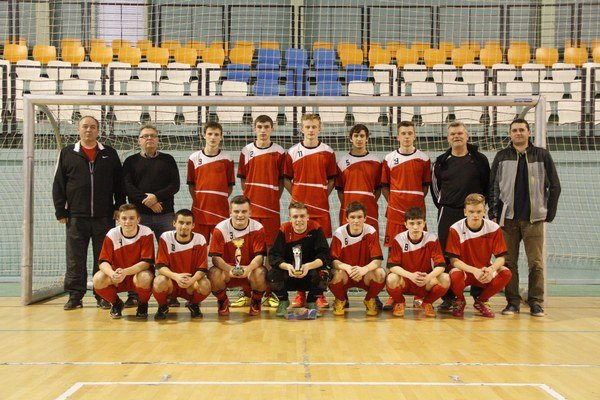 Dorastenecký výber ObFZ Trenčín skončil druhý.