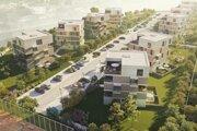 Projektantmi bytového komplexu sú Mikulášania Pavel Bobák a Martin Bobák. Developerom a súčasne staviteľom je spoločnosť Bella Vista, za ktorou stoja tiež Mikulášania.