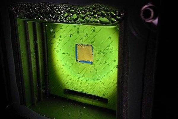 Umelý list, ktorý dokázal vytvoriť syntézny plyn. ten sa dá použiť pri výrobe čistého paliva.