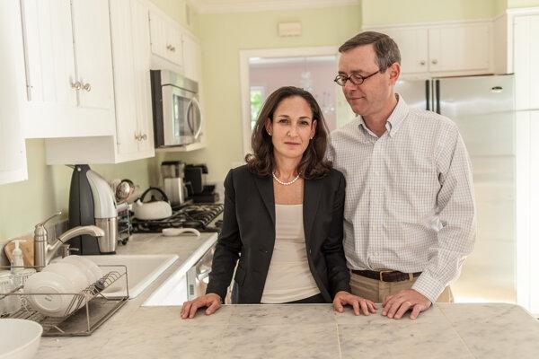 Erica Palimová s manželom Markom.
