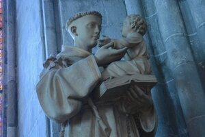 Svätý Anton Paduánsky.