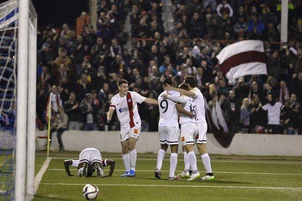 Trenčania sa z gólu radovali tri razy.