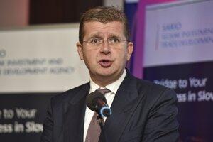 Minister hospodárstva Peter Žiga.
