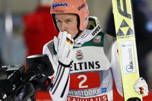 Nemecký skokan na lyžiach Severin Freund.