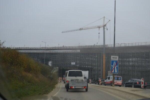 Pri Prešove sa stavia.