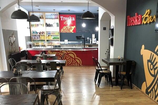 Nový Treska Bar nájdete na Palackého ulici v Trenčíne.