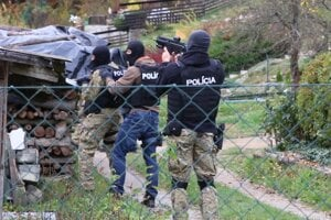 Zásah v Tajove.