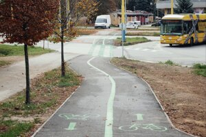 Cyklochodník už môžu využívať cyklisti.
